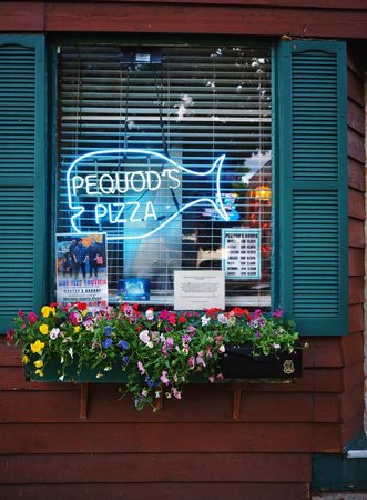 pequods Pizza: Pequod was the name of the Nantucket whaler of ill-fated Capt. Ahab from Moby Dick.