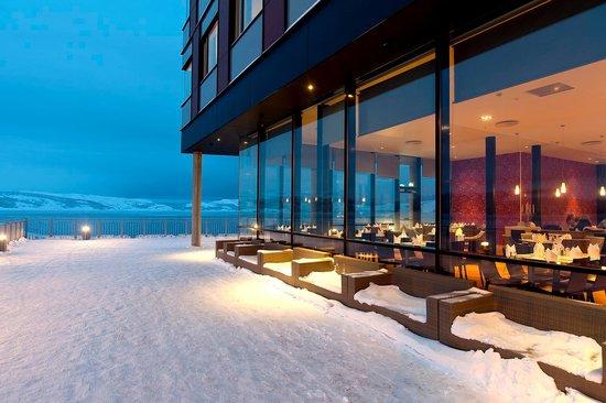 Thon Hotel Kirkenes Restaurant : Restaurant from outside