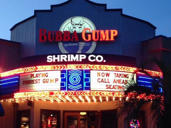 Bubba Gump Shrimp Co. : Destin, FL 8/14