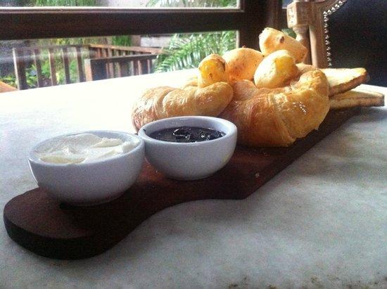 La Alondra : Desayuno