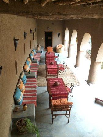 Dar Lorkam: Une des terrasses
