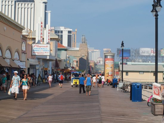 Atlantic City Boardwalk: the Boardwalk