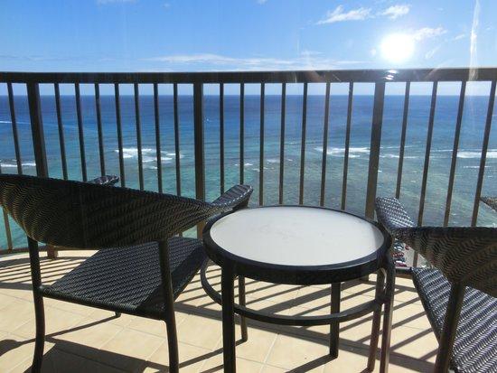 Hilton Hawaiian Village Waikiki Beach Resort : バルコニー1