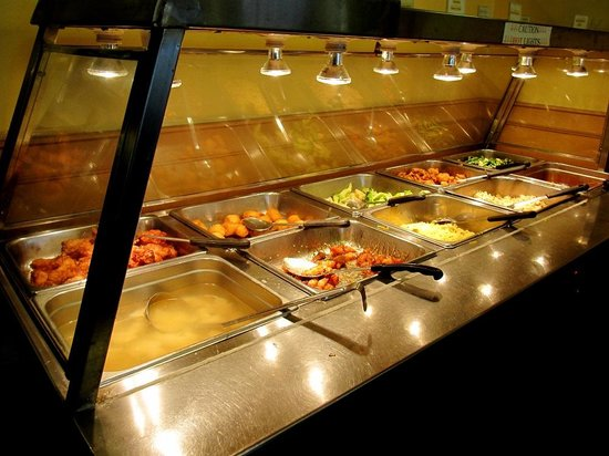 Totem Restaurant in Lillooet, BC - Buffet's hot selections