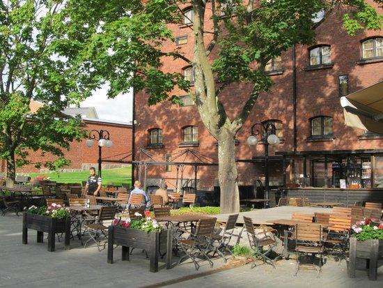 Hotel Katajanokka: Terrace restauarant