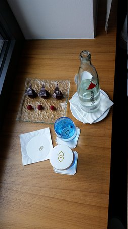 Sofitel Berlin Kurfuerstendamm: welcome gift