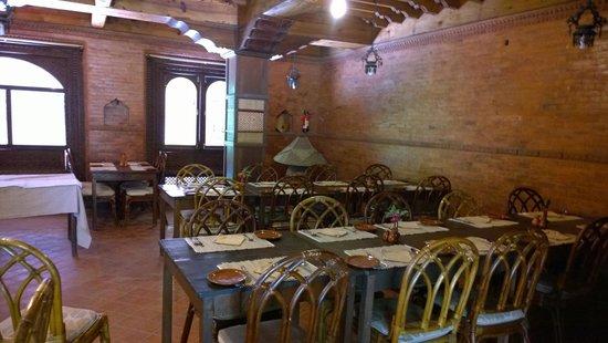 Kantipur Temple House: 餐廳