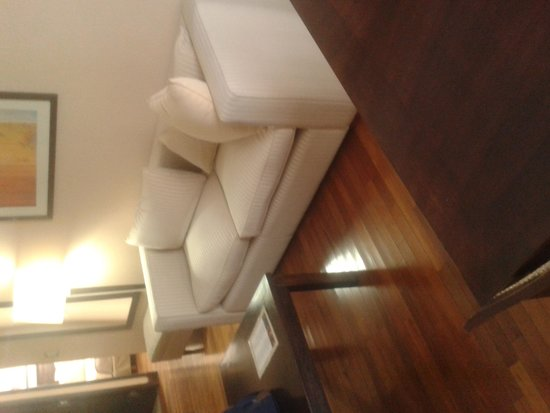 Premium Tower Suites Mendoza: Living de la habitación
