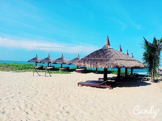 Poshanu Resort: 리조트 비치