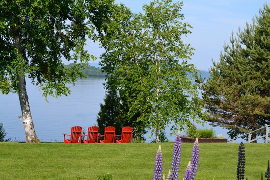Loon Lodge Inn & Restaurant: Lake view from room