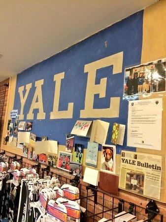 Yale University: Great Yale shop on Beoadway as well