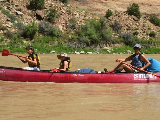 Centennial Canoe Outfitters: August 2014 canoing on Colorado River