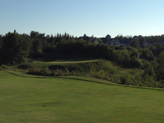 Bay Harbor Golf Club: ロングホールのサードショット!