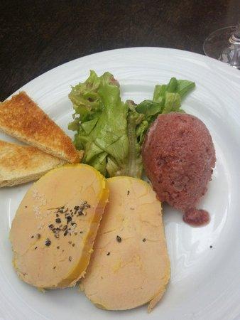 Un moment a Part: Foie gras et son sorbet à la figue