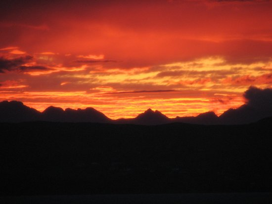 West Highland Hotel: Another sunset photo