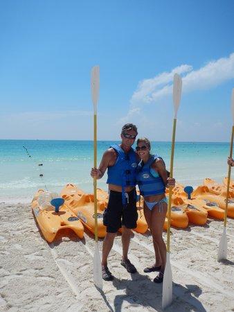 Secrets Maroma Beach Riviera Cancun: Kayaking