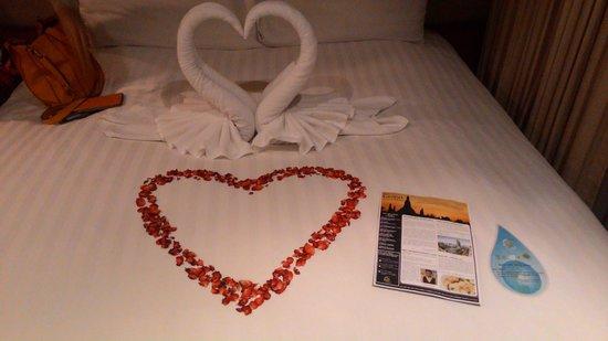 Grand Sukhumvit Hotel Bangkok : Surprise from the hotel staff!