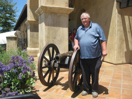 Mormon Battalion Historic Site: Me at Mormon Battalion