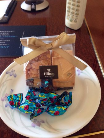 Hilton Nagoya : A special little touch from hilton