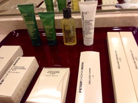 Hilton Nagoya : Toiletries
