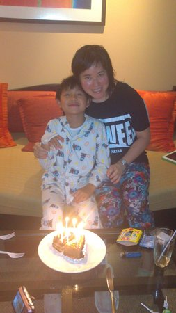Swissotel Resort Phuket Kamala Beach : niece birthday