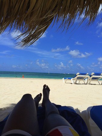 Meliá Caribe Tropical : Relaxing on Play de Bavaro, The Level-Adults Only Beach area