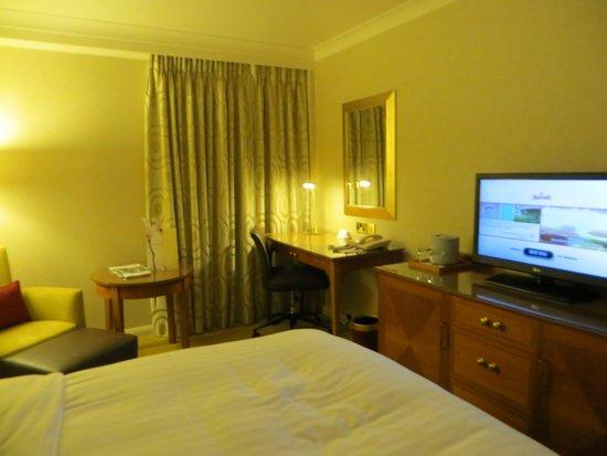 London Marriott Hotel Kensington: Desk