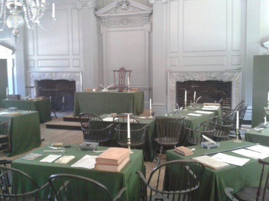 Independence Hall: Stanza
