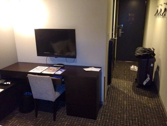 Hiroshima Washington Hotel : Single room