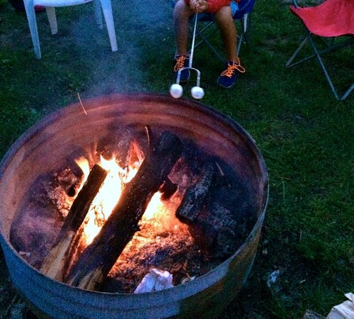 Best Bear Lodge & Campground: fire