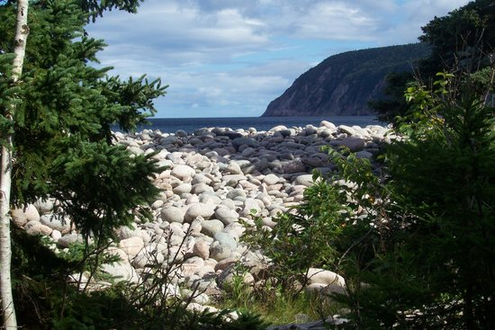 Cabot Trail : From Igonish Beach