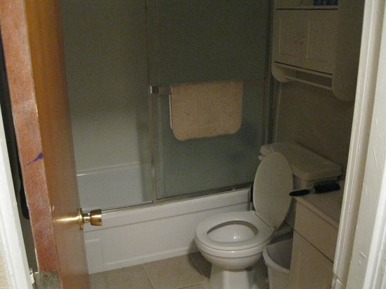 Bent Prop Inn & Hostel of Alaska : Midtown location bathroom