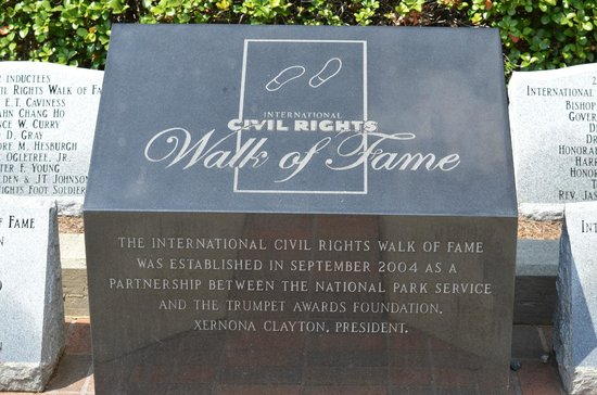 Martin Luther King Jr. National Historic Site: Walk of Fame