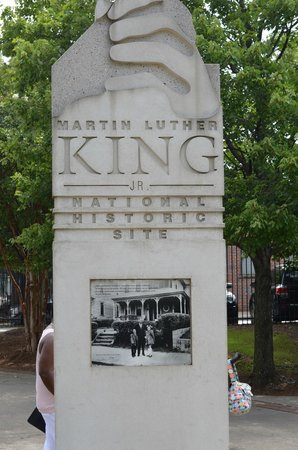 Martin Luther King Jr. National Historic Site: Entrance