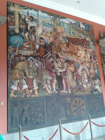 Palacio Nacional: Mural de Diego Rivera