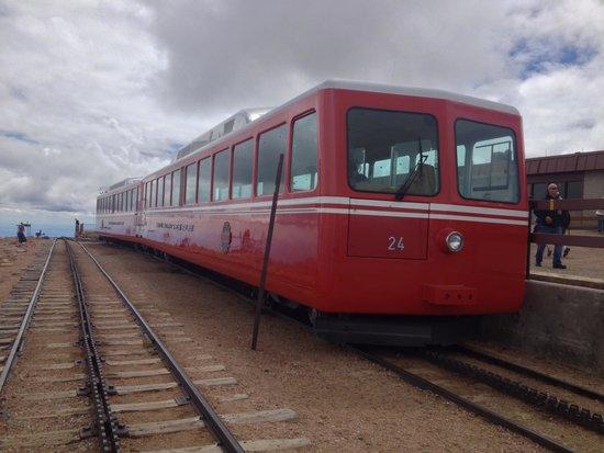 Pikes Peak Cog Railway: The Cog Railway Train