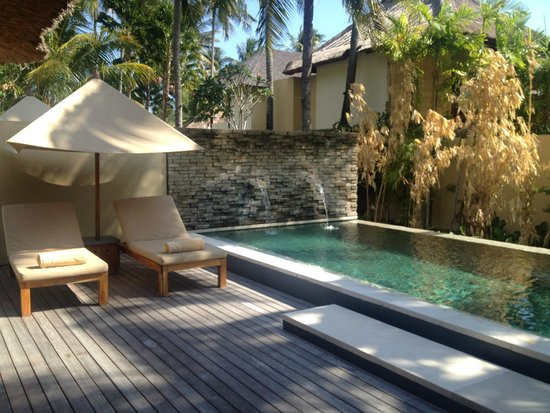 Qunci Villas Hotel: Private pool