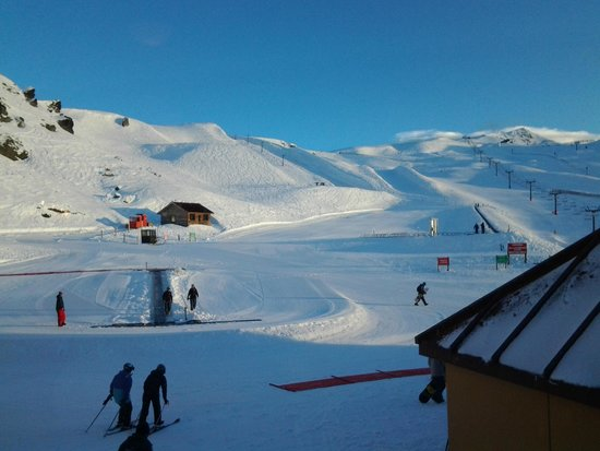 Cardrona Alpine  Resort: View from the base cafe