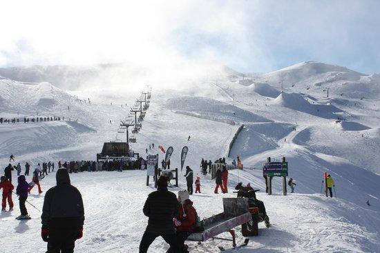 Cardrona Alpine  Resort: A cloudy start
