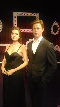 Madame Tussauds Hollywood: Angelina y Brad