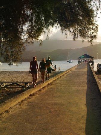 Hanalei Pier : Beautiful views