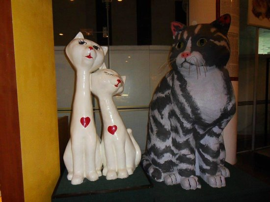 Cat Museum: Some of the display