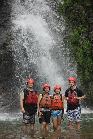 Amigos Del Rio: Waterfall break
