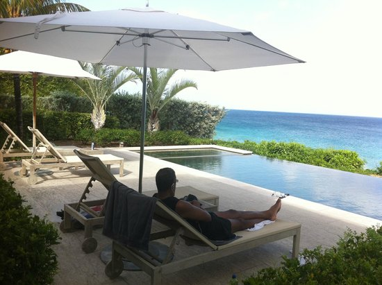 Four Seasons Resort and Residences Anguilla: Villa view.