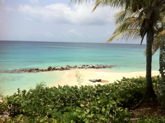 Four Seasons Resort and Residences Anguilla: Private beach area below our villa.
