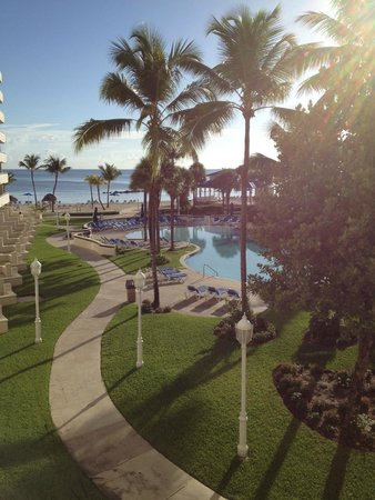 Melia Nassau Beach - All Inclusive: View from Room 636