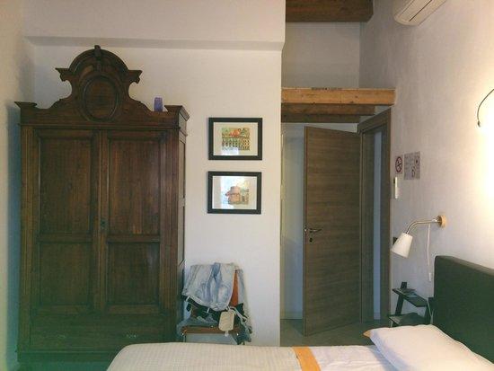 La Filanda di Brescia: Chambre double 4 eme étage