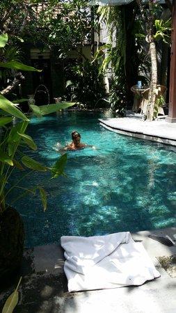 The Bali Dream Suite Villa : Tropical plus!