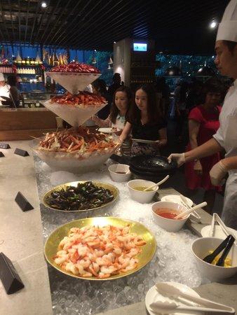 Hotel ICON: Market restaurant buffet - incredible