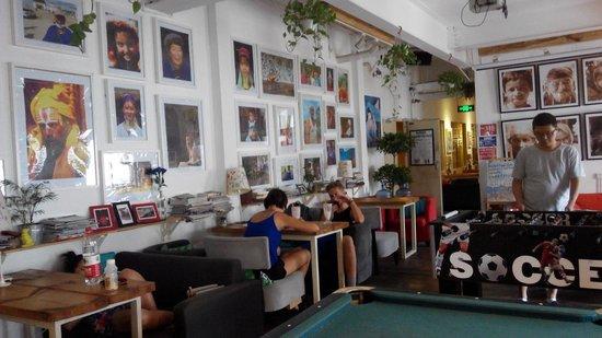 Chengdu Flipflop Lounge Hostel : Lounge